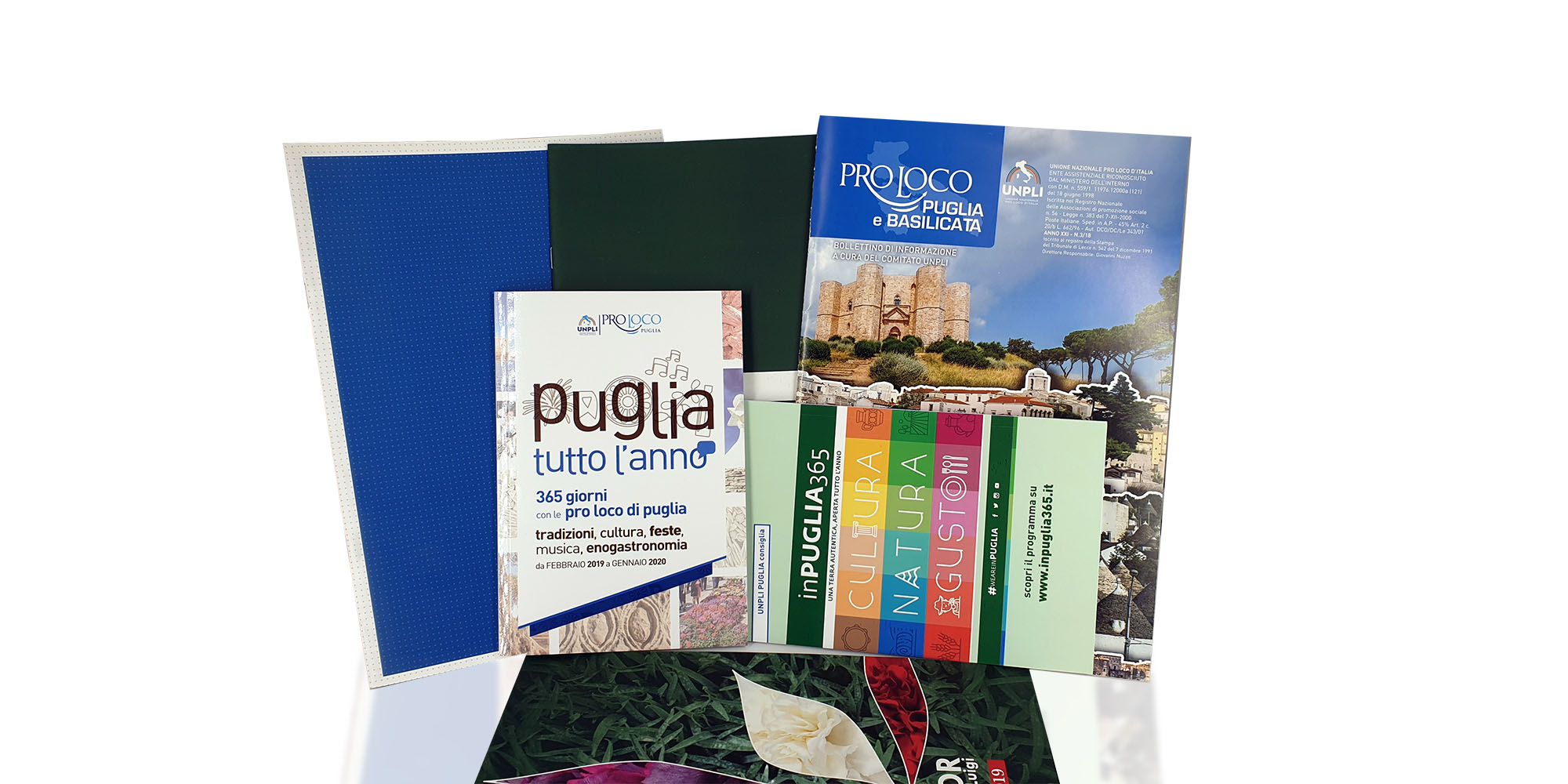 Opuscoli, Brochure e Cataloghi